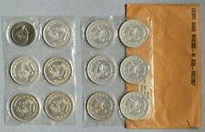 MEXICO Silver Un Peso Set 1957-1967 Complete + 1970 - Lot of 12 Coins NR!