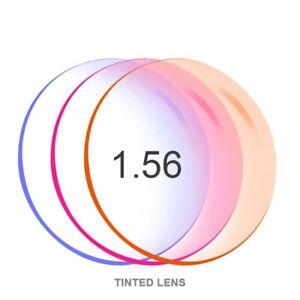 Prescription Glasses Lenses CR-39 Resin Optical Tinted Dyeing Myopia Mirror