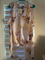 New w Tags X-LARGE- Fig Flower  Floral Blouse Summer Boho Top