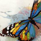 Handmade Oil Painting Colors Butterfly on Canvas Modern Home Decoration