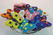HOME MADE ICED BUTTERFLY  SUGAR COOKIES by Needfull Things
