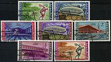 Umm Al Qiwain 1964 SG#19-25 Olympic Games Cto Used Set #D39410