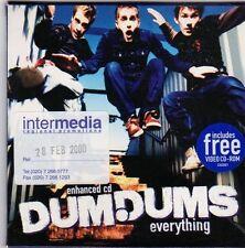 (FI618) Dum Dums, Everything - 2000 DJ CD