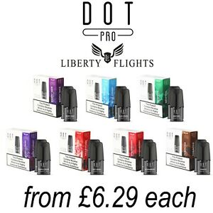 Liberty Flights Dot Pro Refill Pods All 7Flavours | Berry Nice Menthol Tobacco