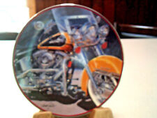 "Franklin Mint ""The Iron Stinger"" Limited Edition Fine Porcelain Plate Harley D."
