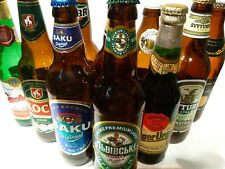 Eastern European Beer Bottles Lot Empty Czechoslovakia Latvia polland Lithuania