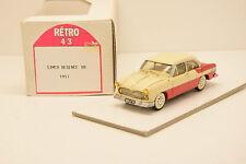 SIMCA REGENCE V8 1957 RETRO 43 1/43 NEUVE EN BOITE