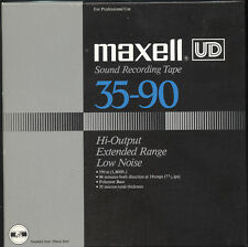 Maxell UD 35-90 Recording Tape Reel to Reel  Excellent Condition  -  LOT of 3
