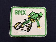 Vintage BMX Bike Trail Bicycle Extreme Sports Cloth Sew On Iron On Patch