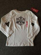 NWT Gymboree Penguin Chalet Girls Size 8 Long Sleeve Shirt Snowflake Gift