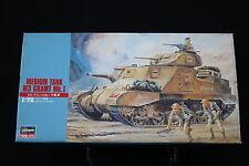XO051 HASEGAWA 1/72 maquette tank char 31105 British Army Medium Tank M3 Gramt