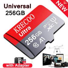 256GB 128GB 64GB Micro SD Memory Card Fast Class10 Flash TF Card with Adapter US