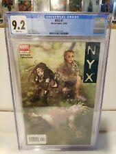 NYX #7 (2005)  X-23 Cover CGC 9.2
