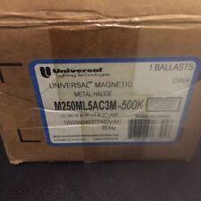 UNIVERSAL MAGNETIC BALLAST METAL HALIDE M250ML5AC3M-500K