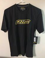 Klim Podium T-Shirt Black/Yellow Mens Medium