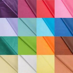 10 Sheets Tissue Paper Present Gift Wrapping Acid Free Quality Sheets 50 x 70cm