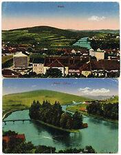 Zwischenkriegszeit (1918-39) Normalformat Lithographie aus den ehemaligen deutschen Gebieten