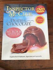 DEATH BY CHOCOLATE INSPECTOR McCLUE MURDER MYSTERY DInner Party Game. New Sealed
