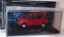 Mercedes A 160 W168 1997 Red 1:43 Scale Decast Car Collection