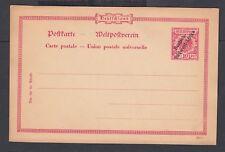 GERMAN SOUTHWEST AFRICA 1890's / 1900 10PF POSTAL STATIONERY CARD MI #P2 UNUSED