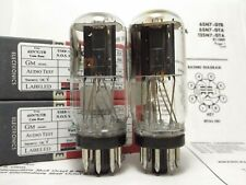 2-6Sn7Gtb Rca Coin Base Vintage Tubes *Certified Reference Plus, Superb Pair