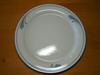 "Lenox Chinastone BLUE BRUSHSTROKES Dinner Plate 10 3/4"" 1 ea    11 available"