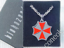 Resident Evil Biohazard Umbrella Corporation Logo Necklace