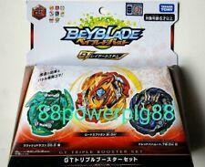 Takara Tomy Beyblade Burst B-149 GT Triple Booster Set US Seller