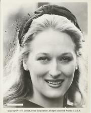 """The Deer Hunter""-Original Photo-Portrait-Meryl Streep-Smiling"