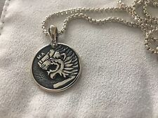 David Yurman Petrvs Lion Amulet Plus Chain