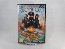 TROPICO 4 PC COMPUTER DVD-ROM FX INTERACTIVE NUOVO SIGILLATO
