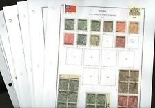 BURMA, Excellent Stamp Collection hinged on pages