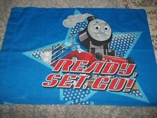 Vintage THOMAS the TANK ENGINE Train Cartoon Character Pillow Case (Fabric)