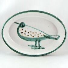 PLAT OISEAU Céramique ROBERT PICAULT VALLAURIS Vintage ceramic50/capron/allix...