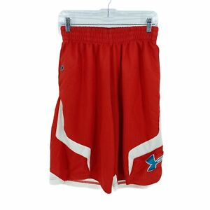 Under Armour Men's Small Loose Basketball Shorts Red