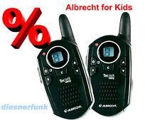 Walky Talky ALBRECHT Tectalk Easy for Kids super mini 8Kanal  PMR446 2Stück 5Km