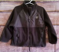 TIMBERLAND Toddler Boy 3T Brown fleece zip up fleece jacket Coat