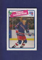 Tomas Sandstrom 1988-89 O-PEE-CHEE OPC Hockey #121 (NM+) New York Rangers