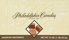 Philadelphia Candies Assorted Meltaway Truffles, Milk Chocolate 1 Pound Gift Box