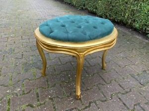 Classic green Bed beech/ dressing table chair. Free shipping Worldwide.