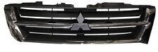 Front Radiator Grille Chrome & Black For Mitsubishi Shogun 3.2DID 2/00-9/02 NEW