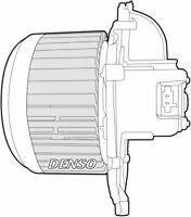 Denso Cabine Ventilateur / Moteur Pour A'Citroen C4 Picasso MPV 2.0