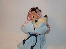 Byers Choice Retired Nativity Series 1990 Kneeling Shepherd Boy with Lamb