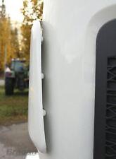 Para adaptarse a Renault T Gama Piedra de suciedad polvo Protector de puerta frontal deflector lateral