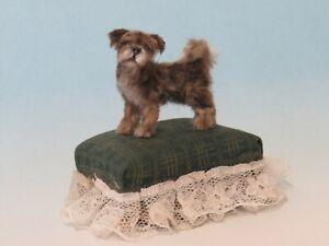 OOAK Dollhouse Miniature 1:12  Dog pup Realistic Handmade IGMA Artisan JParrott