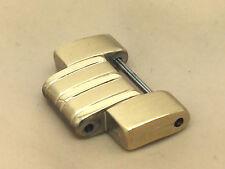 Seiko Model SNE100 Yellow Gold Tone Men's Watch Extra Single Link 19mm (L470)