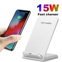 Qi Wireless Charger Charging Pad For iPhone 11 XS Samsung 8 S10 MAX XR S9 K3L2