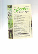Selection Du Reader's Digest N° 339 : Mai 1975