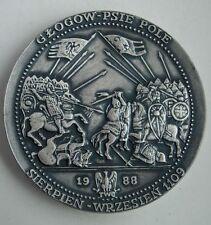 POLISH 1109 BATTLE OF HUNDSFELD Holy Roman Empire MEDAL