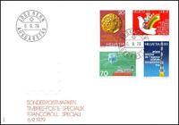 FDC Suisse - Timbres poste spéciaux  6.9.1979